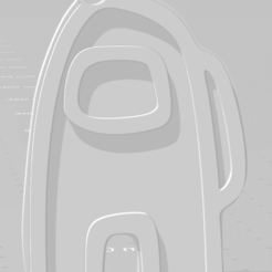 descarga (8).png Download STL file Among Us keychain - Llavero de Among Us • 3D print object, MartinAonL