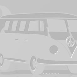 descarga.png Télécharger fichier STL Porte-clés Volkswagen Kombi - Llavero de la Volkswagen Kombi • Modèle à imprimer en 3D, MartinAonL