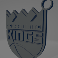 descarga - 2020-12-22T184645.582.png Download STL file Sacramento Kings keychain • 3D printable template, MartinAonL