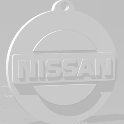 descarga (82).png Download STL file Llavero de Nissan (logo viejo) - Nissan keychain (old logo) • 3D printer template, MartinAonL