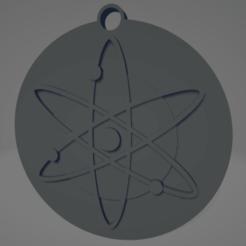 descarga (46).png Télécharger fichier STL Cosmos (ATOM) Keychain - Llavero de Cosmos (ATOM) • Modèle à imprimer en 3D, MartinAonL