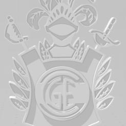 Download 3D printing templates Llavero de Gimnasia y Esgrima de La Plata, MartinAonL