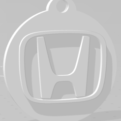 descarga (70).png Download STL file Llavero de Honda - Honda keychain • 3D print object, MartinAonL