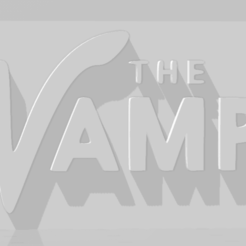 descarga.png Download STL file The Vamps keychain • 3D printer object, MartinAonL