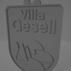 descarga (40).png Télécharger fichier STL Llavero de Villa Gesell • Modèle imprimable en 3D, MartinAonL