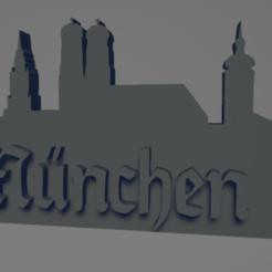 descarga - 2021-01-05T110343.106.png Download STL file München city keychain (silhouette) • 3D print model, MartinAonL