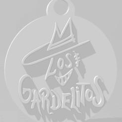 Download 3D printing templates Llavero de Los Gardelitos, MartinAonL