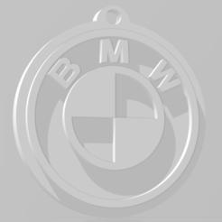 Download 3D printing designs Llavero de BMW - BMW keychain, MartinAonL