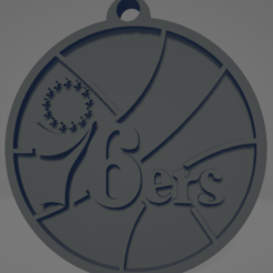 descarga - 2020-12-22T184000.782.png Download STL file Philadelphia 76s keychain • 3D printable template, MartinAonL