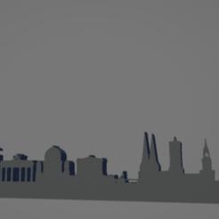 descarga - 2021-01-05T111417.763.png Download STL file Berlin city keychain (silhouette) • 3D print model, MartinAonL