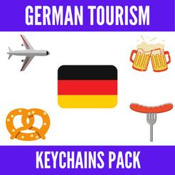 maria prieto (4).png Download STL file German tourism - Keyrings pack • 3D printer model, MartinAonL