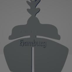 descarga - 2021-01-05T141917.737.png Download STL file Hamburg boat keychain • 3D print model, MartinAonL