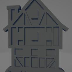 descarga - 2021-01-05T114214.702.png Download STL file Frankfurter Römer keychain • 3D printable template, MartinAonL