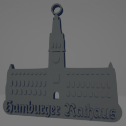 descarga - 2021-01-05T142847.767.png Download STL file Hamburger Rathaus keychain • 3D printer model, MartinAonL