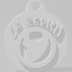 Download STL Llavero de La Beriso, MartinAonL