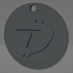 descarga (49).png Télécharger fichier STL Porte-clés Digibyte - Llavero de Digibyte • Modèle imprimable en 3D, MartinAonL