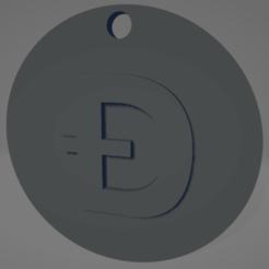 descarga (50).png Télécharger fichier STL Porte-clés Dogecoin - Llavero de Dogecoin • Modèle pour impression 3D, MartinAonL