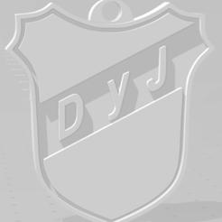 Download 3D printer designs Llavero de Defensa y Justicia, MartinAonL