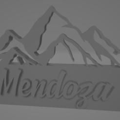 descarga (24).png Télécharger fichier STL Llavero de Mendoza - La Cordillera de Los Andes • Plan pour imprimante 3D, MartinAonL