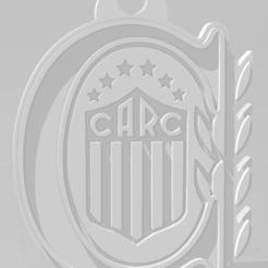 Download 3D printer files Escudo de Rosario Central, MartinAonL