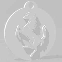 descarga (65).png Download STL file Llavero de Ferrari - Ferrari keychain • 3D print design, MartinAonL