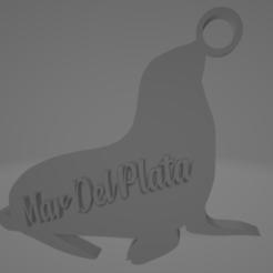 descarga (23).png Télécharger fichier STL Llavero de Mar Del Plata - Lobo marino • Design pour impression 3D, MartinAonL