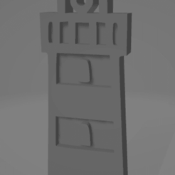 descarga (22).png Télécharger fichier STL Llavero del faro de Mar del Plata • Modèle imprimable en 3D, MartinAonL