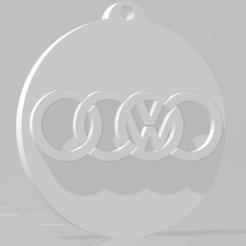 descarga (59).png Télécharger fichier STL Llavero de Audi - Volkswagen / Audi - Porte-clés Volkswagen • Design pour impression 3D, MartinAonL