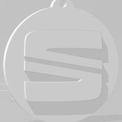 descarga (87).png Download STL file Llavero de Seat - Seat keychain • Design to 3D print, MartinAonL