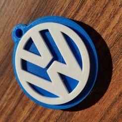 Télécharger STL Porte-clés Volkswagen, MartinAonL