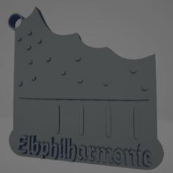 descarga - 2021-01-05T141647.145.png Download STL file Elbphilarmonie keychain • 3D printing design, MartinAonL