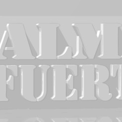 Download 3D printer files Llavero de Almafuerte, MartinAonL