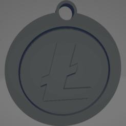 descarga (53).png Télécharger fichier STL Porte-clés Litecoin - Llavero de Litecoin • Objet imprimable en 3D, MartinAonL
