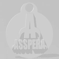 Download STL Llavero de Asspera, MartinAonL