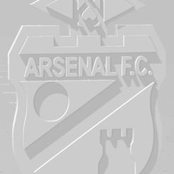 Télécharger plan imprimante 3D Llavero de Arsenal, MartinAonL