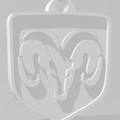 descarga (64).png Download STL file Llavero de Dogde - Dodge keychain • 3D printer model, MartinAonL