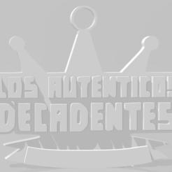 Download 3D model Llavero de Los Auténticos Decadentes, MartinAonL