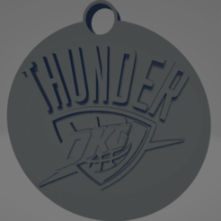 descarga - 2020-12-22T183224.954.png Download STL file Oklahoma City Thunder keychain • 3D printer template, MartinAonL