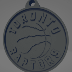 descarga - 2020-12-22T185107.379.png Download STL file Toronto Raptors keychain • 3D printing template, MartinAonL