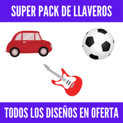 maria prieto (6).png Télécharger fichier STL Super Pack de Llaveros (Autos + Superliga + Bandas de rock nacional) • Design pour impression 3D, MartinAonL