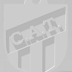 Download 3D print files Llavero de Club Atlético Tucumán, MartinAonL