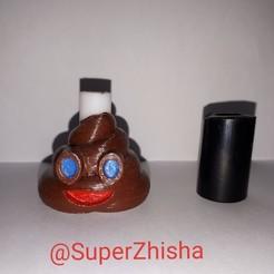 Descargar archivos 3D gratis Boquilla Emoji mierda cachimba shisha hookah, mrzhisha