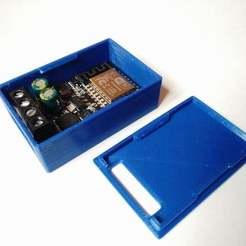 IMG_20200205_113657.jpg Télécharger fichier STL gratuit Boîtier encliquetable pour le module de commutation de mosfet ESP8266 Sinilink XY-WFMS 5V-36V • Modèle imprimable en 3D, SimonSeghers