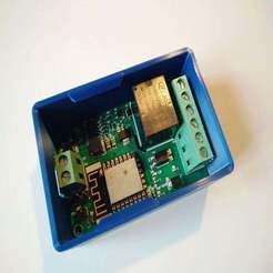 IMG_20191005_163026.jpg Télécharger fichier STL gratuit Boîtier encliquetable pour le module relais ESP8266 Yunshan/Wemos • Objet à imprimer en 3D, SimonSeghers