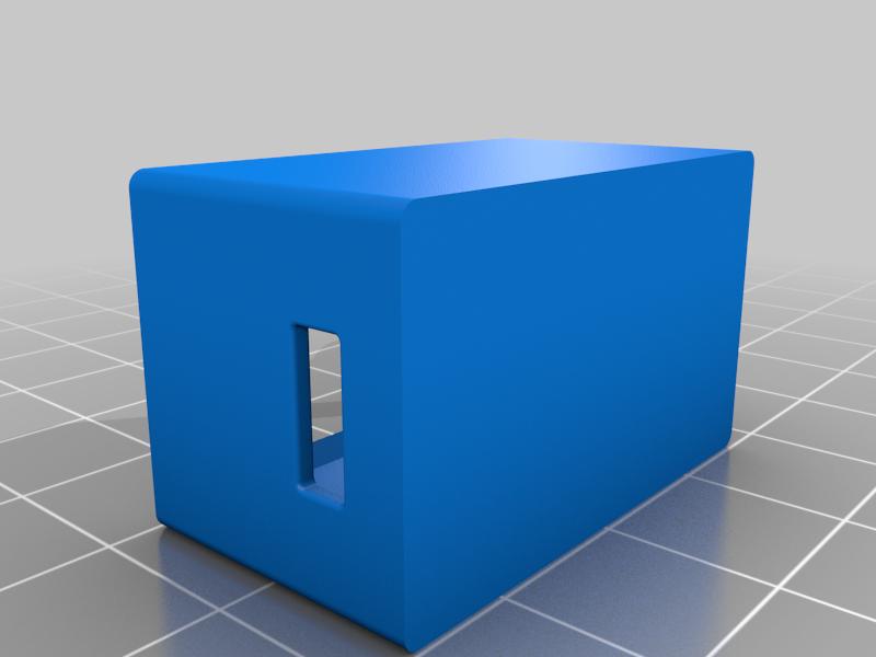 Case.png Télécharger fichier STL gratuit Boîtier Snapfit pour le module d'amplification réglable DC-DC MT3608 avec micro USB • Plan pour impression 3D, SimonSeghers