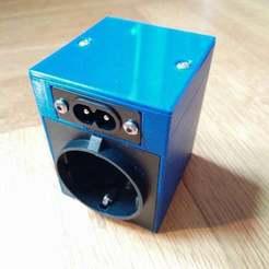 IMG_20200205_104657.jpg Télécharger fichier STL gratuit Boîtier de prise de courant pour ESP8266 Moes QS-WiFi-D01 150W ou gradateur Shelly • Modèle imprimable en 3D, SimonSeghers