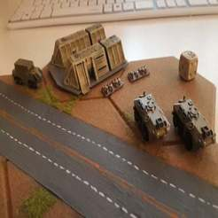 20191004_193355.jpg Download free STL file GDI TW2 Barracks • 3D printer design, uamila