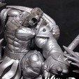 Télécharger STL gratuit Sculpture 3d de Wicked Marvel Hulk : Avengers STL prêt pour l'impression, Wicked
