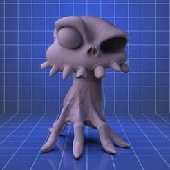 front.21.jpg Download STL file Sir Daniel. HEad and Hand Mediedvil • 3D printer object, RedBushido