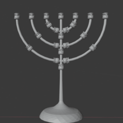 candelabro2.png Download STL file Tabernacle Candlestick • 3D printer design, bibl3d